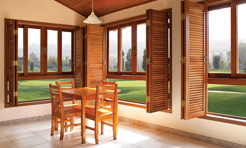 Sovereign Basswood Shutters